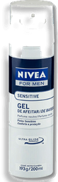 Gel De Afeit,Nivea Sensitive X200Ml