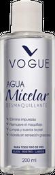 Agua Micelar Desmaquillante Vogue 200 Ml