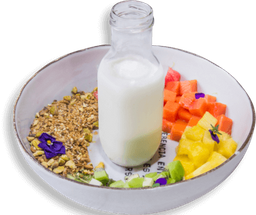 Parfait con Yogurt de Coco