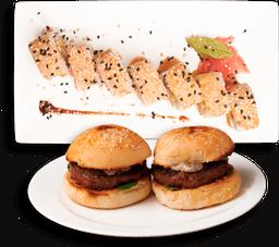 Combo Burgers & Sushi Kamikaze