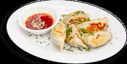 Dumpling de champiñon y tofu