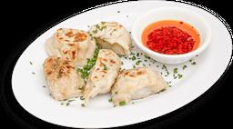 Plato mixto de dumplings