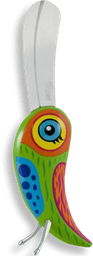 Cuchillo Pájaro Verde