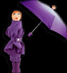 Sombrilla Rain Parade Purple
