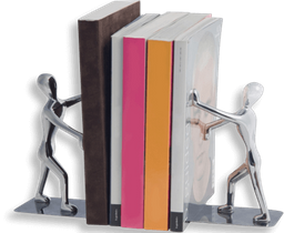 Sujeta Libros Shadow Plat X 2
