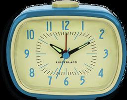 Reloj Despertador Retro Azul