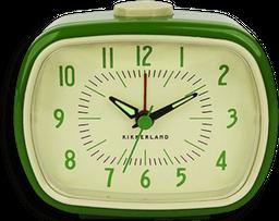 Reloj Despertador Retro Verde