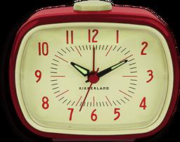 Reloj Despertador Retro Rojo