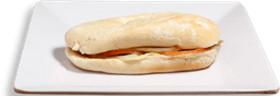 Mini Sándwich Jamón Serrano y Queso Maduro