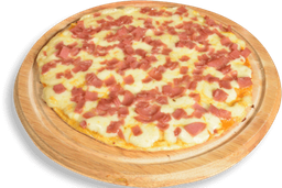Pizza Jamón y Queso (personal)