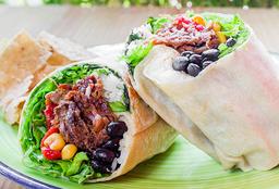 Super Burrito Carne Desmechada Res