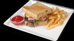 Sandwich Jamón y Quesos