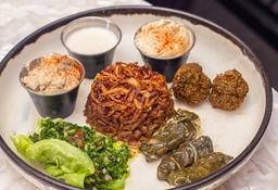 Plato Mixto Vegetariano para Compartir