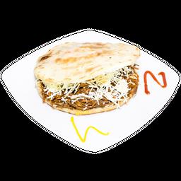 Arepa Ocañera Carne-Aguacate-Queso