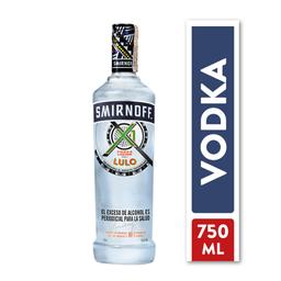 Smirnoff X1 Shots Sabor A Lulo 750 Ml