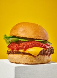 Sweet bacon cheeseburger