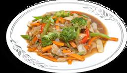 Ensalada caliente de vegetales mixtos