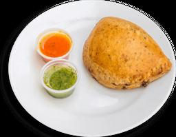 Empanada horneada vegetariana