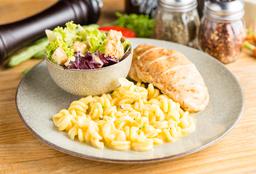 Pollo y Pasta Fresca