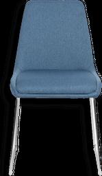 Silla de Comedor Kristy Tela Azul - 1404361