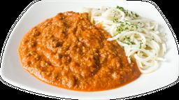 Spaguettis a la Bolonegsa