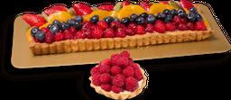 Tarta de frutas Porción