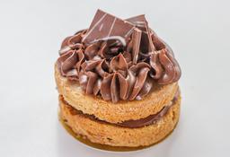 Torta nutella porción