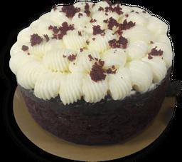 Torta red velvet porción