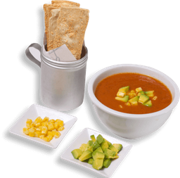 Sopa de tomate mexicana