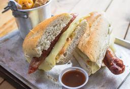 Sándwich de Chorizo