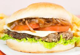 Combo hamburguesa de res