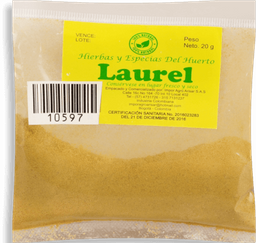 Laurel En Polvo Arisar Pqx20Gr
