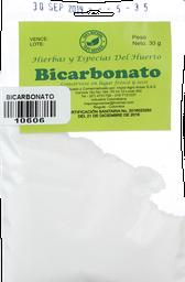 Bicarbonato Arisar Pq X 30 Gr