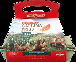 HUEVO GALLINA FELIZ X 18
