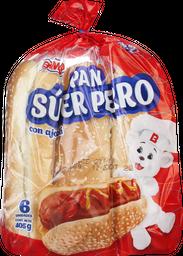 Pan super perro Bimbo x 6 unidades