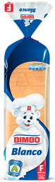 Pan blanco Bimbo x 600 Gr