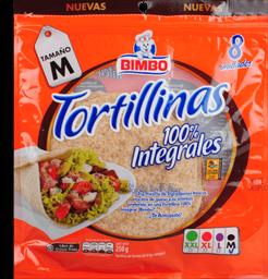 Tortilla Integral Bimbo Paquete X 8 Un