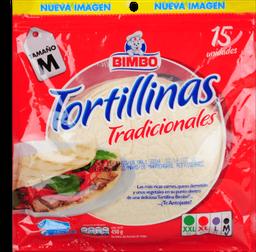 Tortilla Tradicional Bimbo Pq X 15 Un