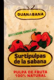 Pulpa Guanabana Pq X 500 Gr Surtipulpa