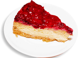 Porción Cheesecake de Frutos Rojos