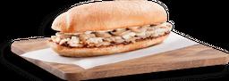 🥪Sánduche Pollo Champiñón BBQ