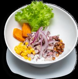 Ceviche mixto peruano