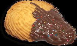 Galleta punta de chocolate