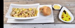 🍝 Pasta con Pollo y Jamón de cerdo