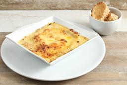 Lasagna con Pollo a la Carbonara