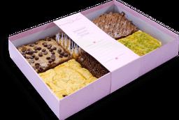 Caja de 6 brownies