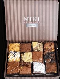 Caja 12 mini brownies
