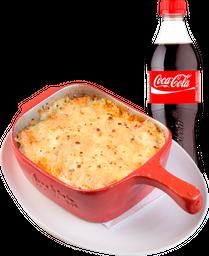 🍴Lasagna Bolognesa + Gaseosa Coca-Cola de 400 ml