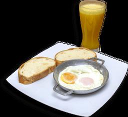 Combo Huevos el de Siempre