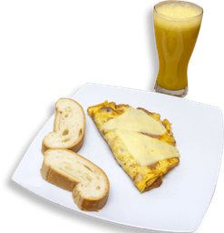 Combo Omelette Colombiano